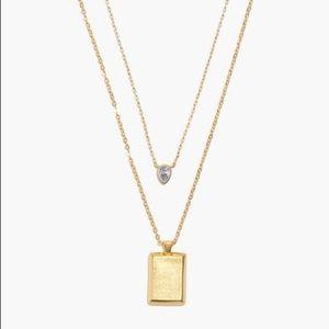 Madewell Teardrop Necklace Set